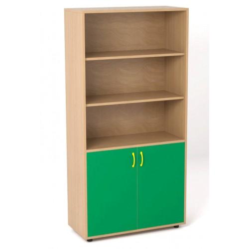 Armarios con puertas y estantes modelo esape for Puertas y armarios