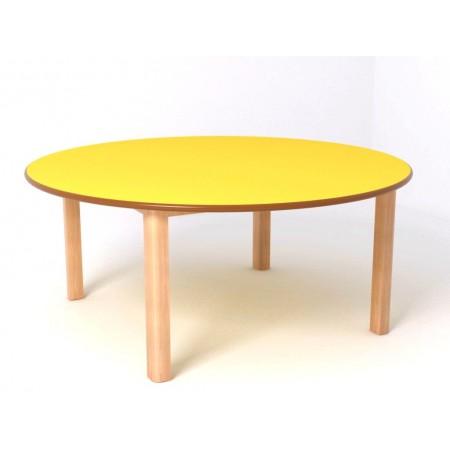 Mesa redonda infantil modelo esmcm for Mesa redonda infantil