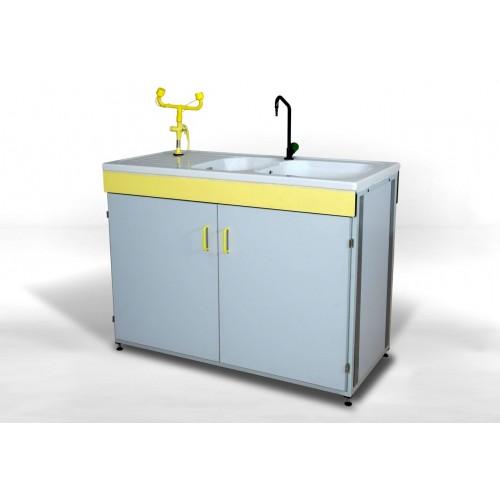 Mesa laboratorio polivalente modelo ml 123 for Lavadero metalico